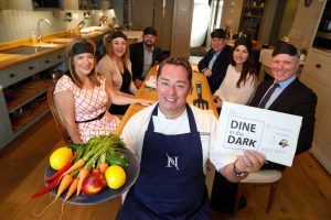 Neven Maguire with Dine in the Dark Sponsors